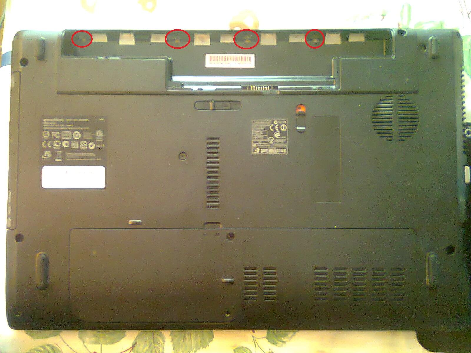 ноутбук lenovo z580 инструкция по разборке