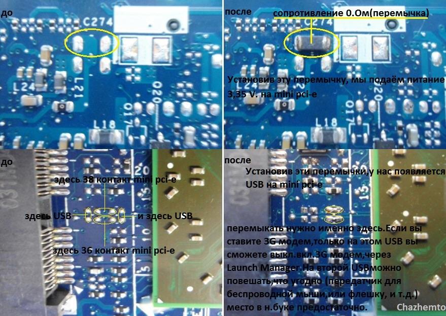 Установка 3G модема в Acer.