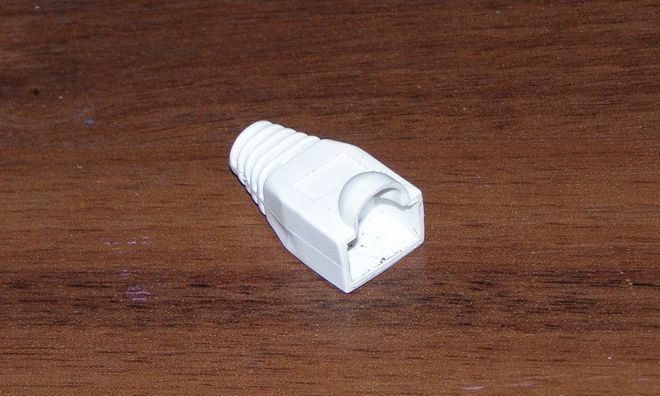 Обжимка кабеля.