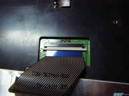 Как снять клавиатуру. Ноутбуки Acer TravelMate и Extensa