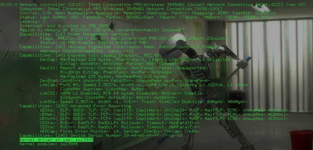 На скриншоте версия драйвера -iw13945 Я рассмотрю самый распространённые на