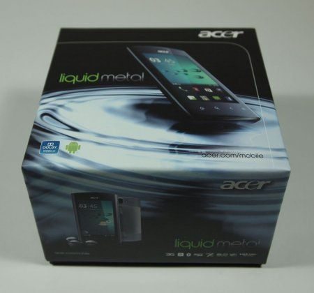 Обзор коммуникатора Acer Liquid MT Metal
