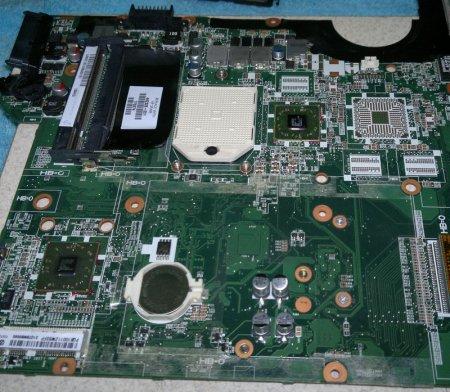 Восстановление работоспособности ноутбука с помощью прогрева чипов