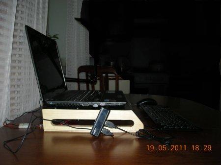 Создание охлаждающей подставки для ноутбука