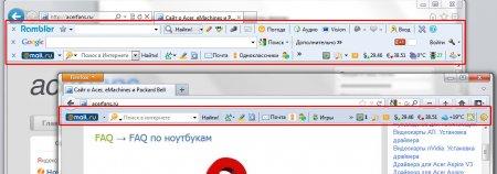 Ускоряем работу браузеров