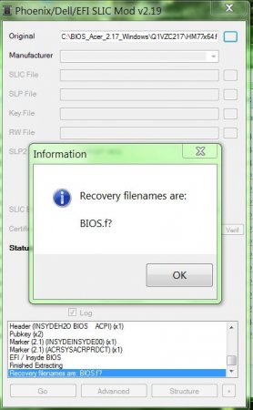 Insyde Bios Recovery